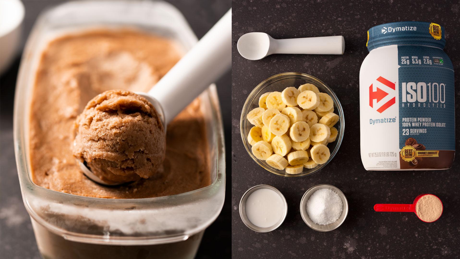 Chocolate Protein Ice Cream