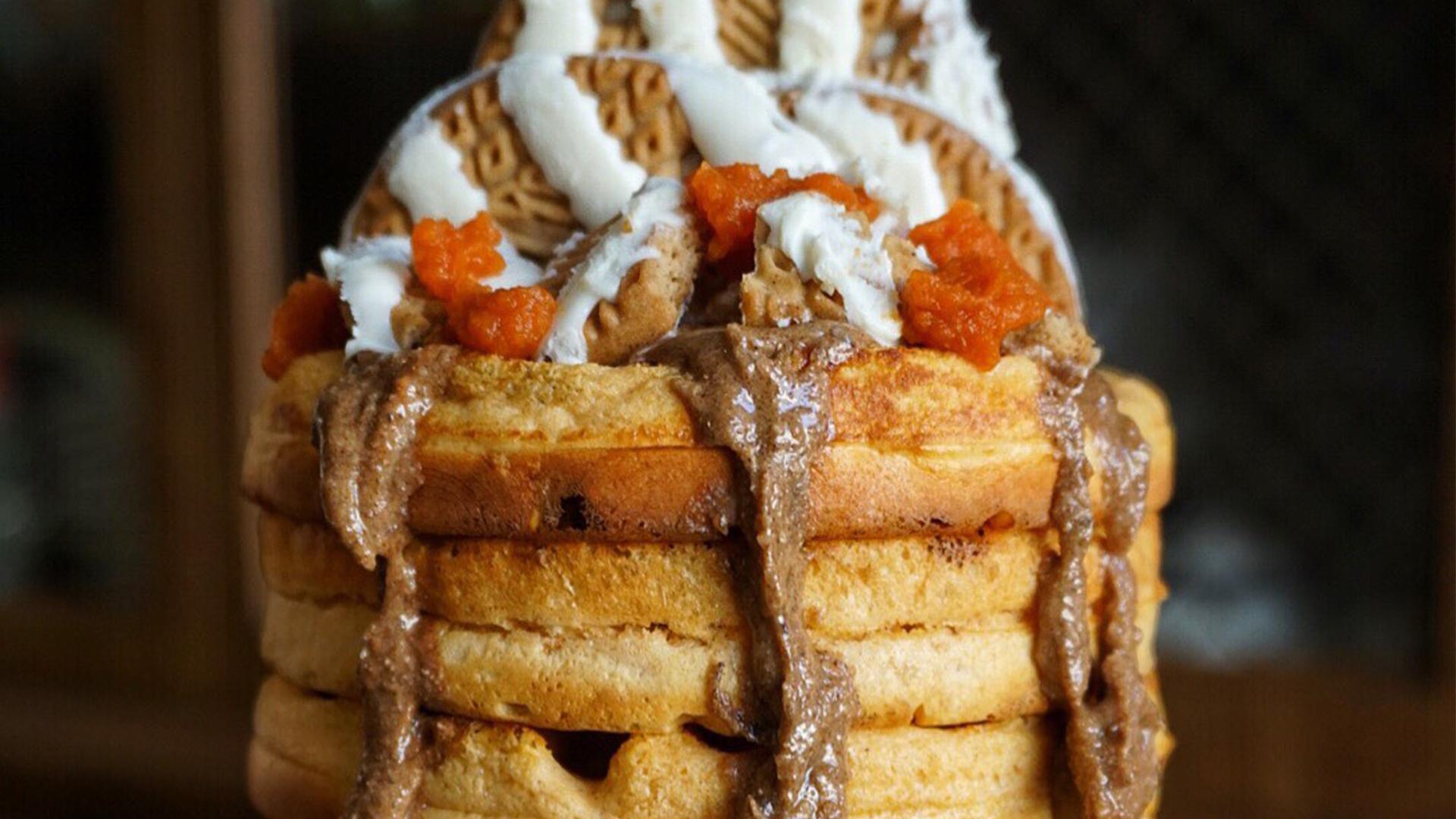 Dymatize Pumpkin Spice Protein Waffles