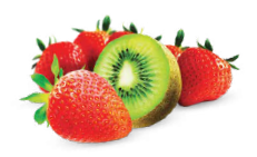 Strawberry Kiwi with Caffeine