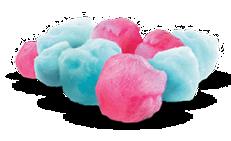 Handspun Cotton Candy