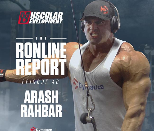 The Ronline Report Episode 40 - Arash Rahbar